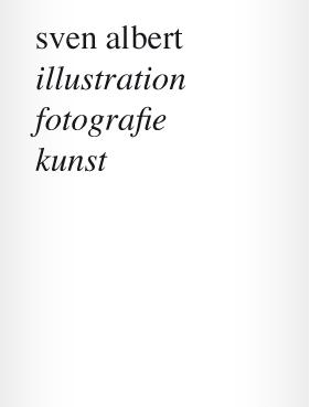 Sven Albert Visualization
